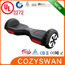 2016 Cozyswan 2 wheel 6.5 inch self balancing electric scooter smart balance wheel hover board hoverboard