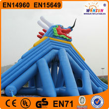 2015 Giant Inflatable Water Slides Wholesale Inflatable Sliding Water Slide