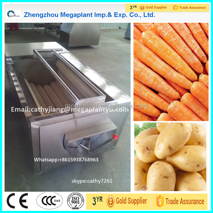 Cheap price Potato Carrot Peeling Washing Cleaning machine for sale