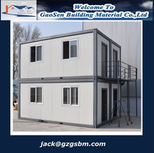 fireproof and waterproof fold container house