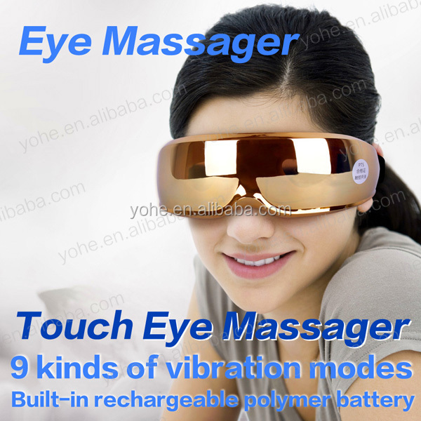 Factory direct sales 2014 new rechargeable relaxing electronic eye massager