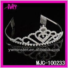 Bridal Wedding Sparkling Tiara with Austrian Crystal MJC-100233