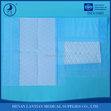 Hospital linen saver / disposable underpad / dignity sheet