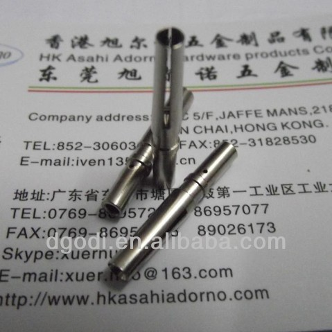 nickel plated brass split pins, brass contact pin