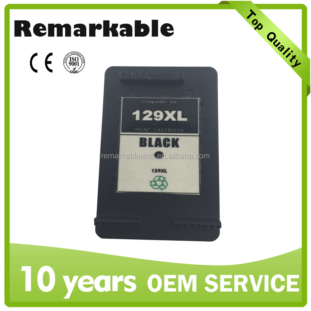 Office supply for HP 129 refillable and compatible ink cartridge printer