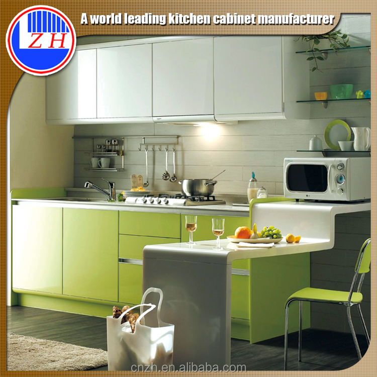 2015 new wooden kitchen wall hanging cabinets for small kitchens