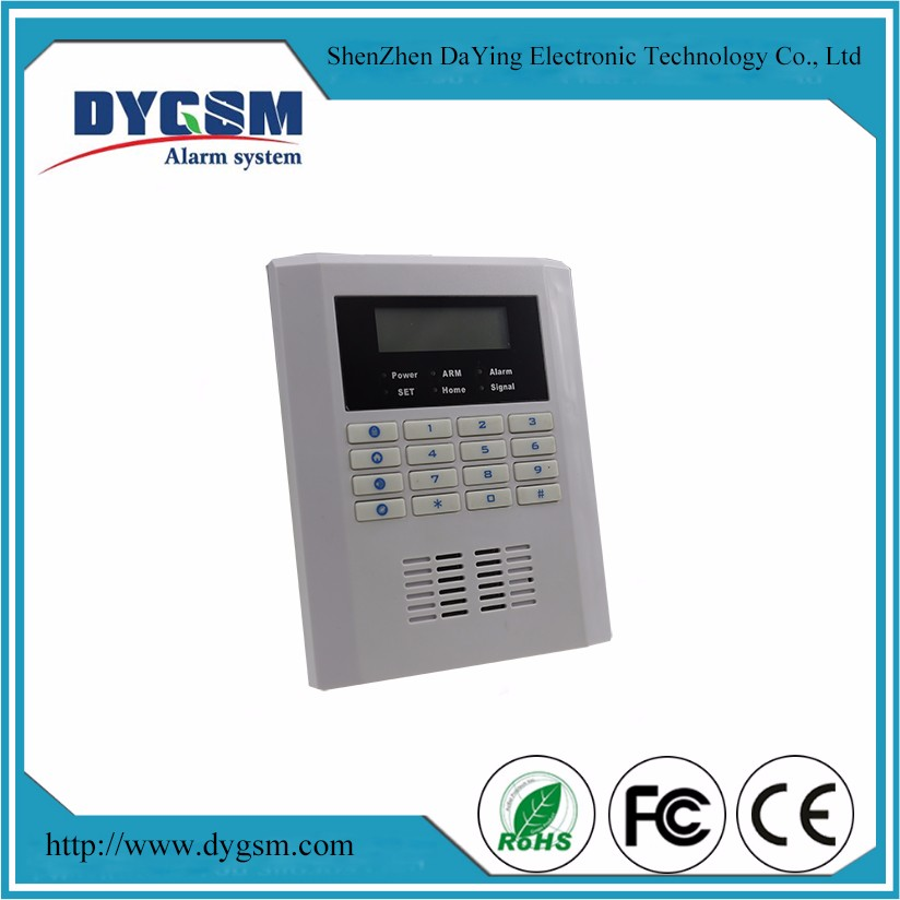 Burglar Intruder Wireless GSM & PSTN Two-way Intercom Alarm System Voice Menu IOS Android APP Control -GSM10B
