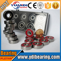 New Hot Products Chrome Steel 608 Rubber Shields Ball Bearing