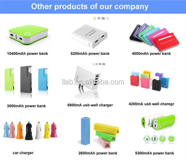 2017 OEM USB mobile charger power bank 5200mah, high quality portable battery charger in Shenzhen ,folding plug