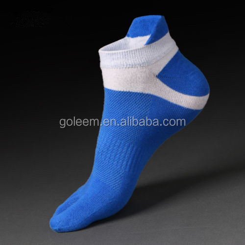 Cotton Five Finger Toe sports socks