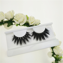 Wholesale 3d faux mink lashes Silk Fiber Eyelashes Faux Mink Lashes with custom packaging