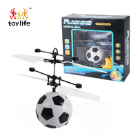 Easy control football induction flying ball helicopter with flashing LED light