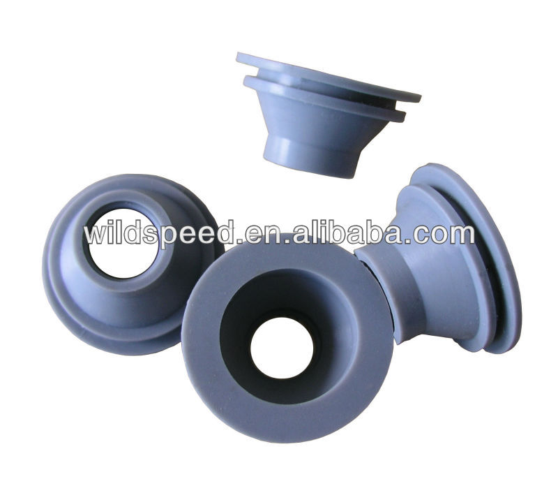 silicone grommet/rubber moulding parts/silicone plug insert