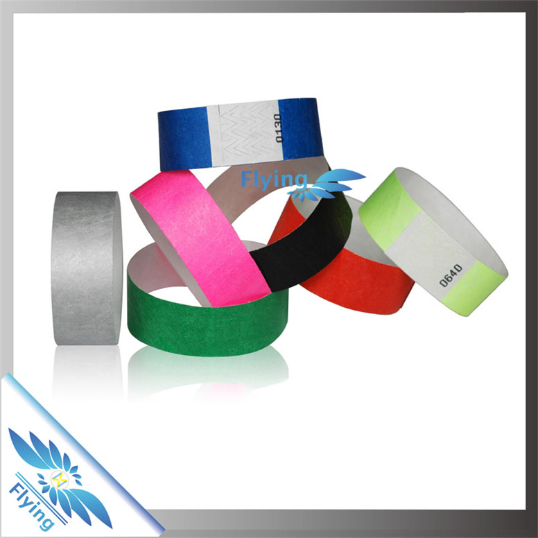 paper bracelets for events Wristbands for one time use, great for security and crowd control custom print on your tyvek, vinyl, plastic, cloth or silicone wristband.