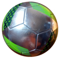 special mould silver color soccer ball football