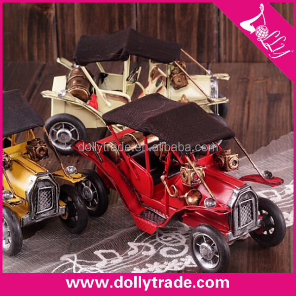 wholesale antique vintage metal car model