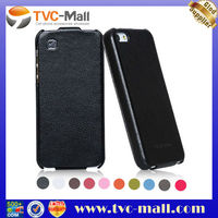 100% HOCO Case,HOCO Duke Vertical Genuine Leather Flip Case For iPhone 5
