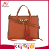 Guangzhou canton fair vintage leather bag gradient edge handbag shaped bag