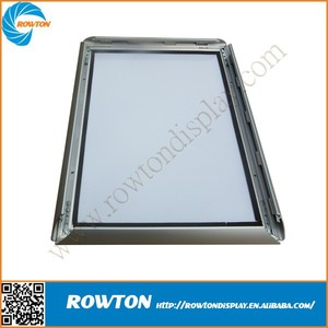 Outdoor wall mounted metal poster frame aluminium photo frame
