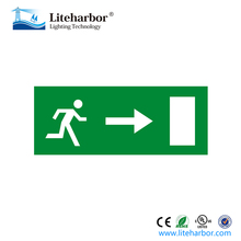 LED Exit Lighting Kits Running Man Emergency Exit Sign Board Light