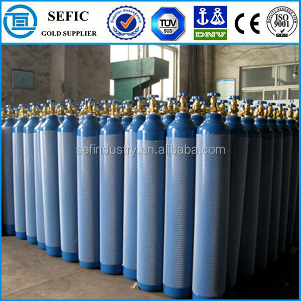 Low Price Seamless Steel Aluminum Alloy used industrial oxygen cylinder