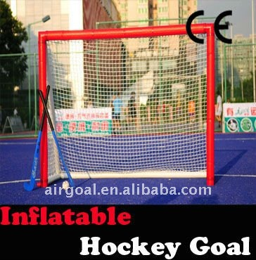 composite hockey sticks (H-02 6'*4' Inflatable Hockey Goal)