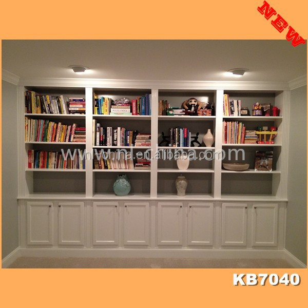 2014 Wooden Bookcase with ladder