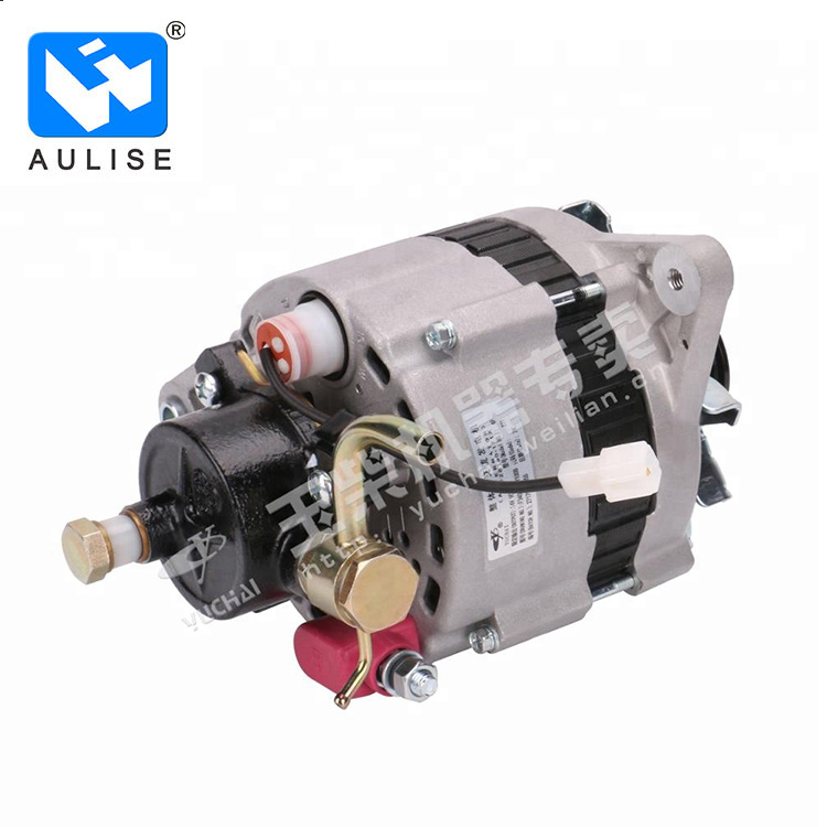 F3400-3701100B Alternator genuine engine parts from YUCHAI original for YC4F90-21
