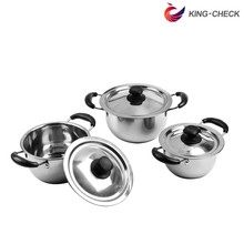 Whole Stainless Steel Kitchen Set Cookware, Cookware pot set