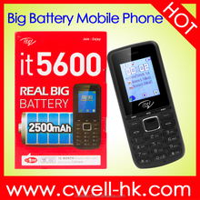 In stock New product Itel It5600 1.8 inch quad band GSM very slim feature phone