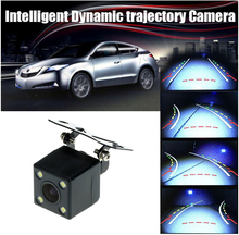 Auto car rearview camera with moving parking guide line AD-C2221B