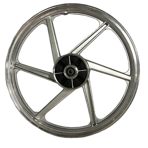 Custom forged aluminum motorcycle rear alloy wheels for street bike