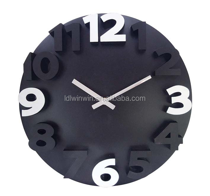 2015 New clocks with chinese 3D numbers