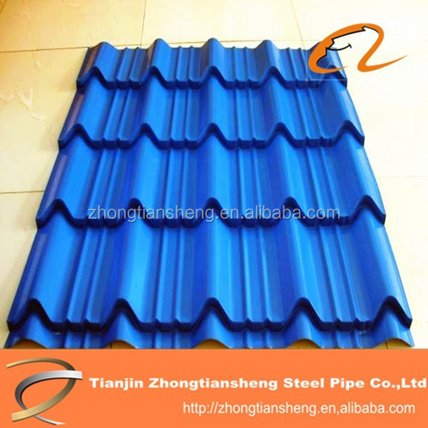 transparent corrugated roofing sheet / color corrugated roof sheet