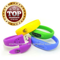 ST- Promotion product cheap rubber band usb flash drive