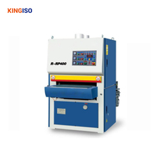 Good price woodworking machine MSK R-RP400 Heavy-Duty Wide-Belt sanding machine with 2Roller and 1Pad