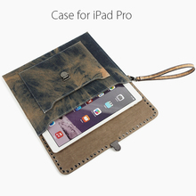 Classiz Durable canvas & leather pouch for Ipad Air/mini/ for Mackbook...