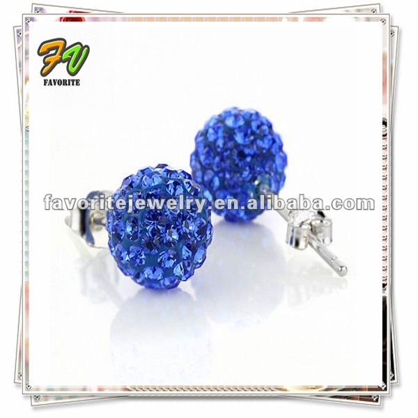 Accessories to Make Earrings&Fashion micro pave bead Earring