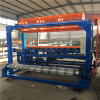Professional Factory Full Automatic 96inch Height Fixed Knot Fence Machine