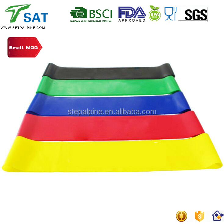 China supplier Hi-<strong>Q</strong> High Quality <strong>100</strong>% Natural Latex Bulk Resistance Bands for Fitness