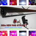 remote control wireless three color changing Led rgb strobe light bar