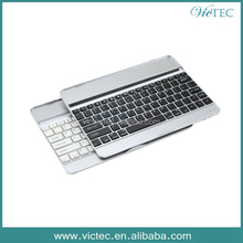 Aluminum Bluetooth Mini Wireless Keyboard With Stand for iPad air