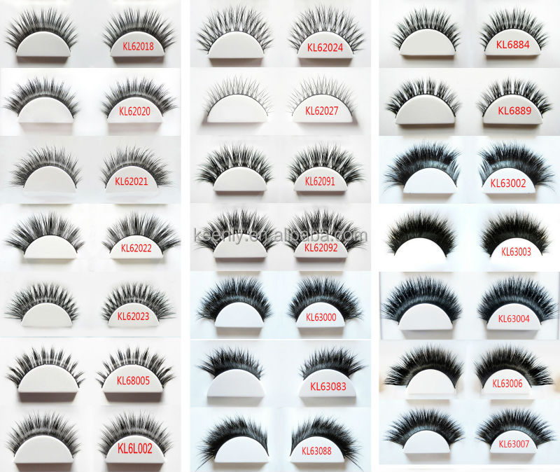 New Design Own Brand Eyelashes Many Different Styles Mink Lashes 3d