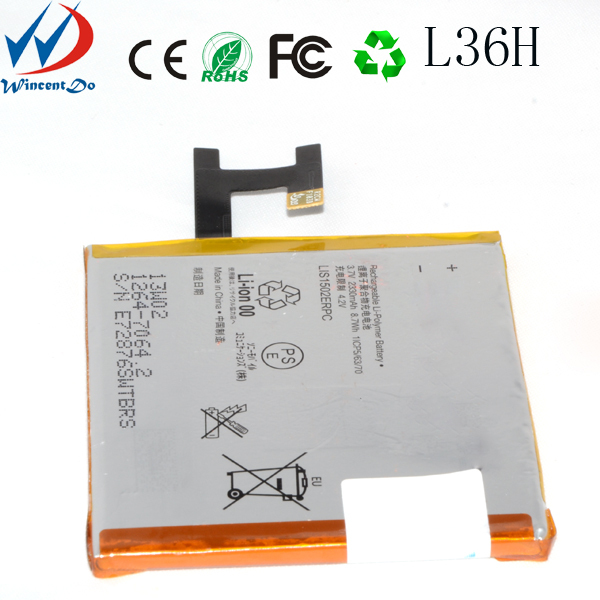 lower price of original xperi Z Battery for sony C6603 lt36i h L36H