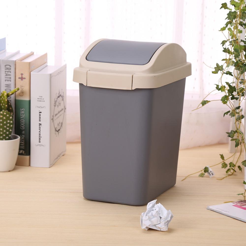 n516 indoor decorative plastic trash can plastic garbage can home waste basket buy trash can. Black Bedroom Furniture Sets. Home Design Ideas