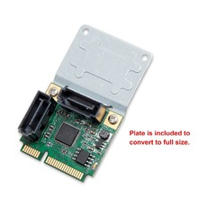 Mini PCIe to 2 Ports SATA 3.0 Adapter Controller Expansion Card