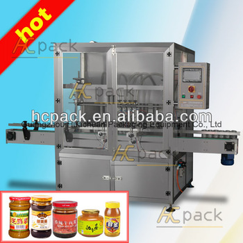 six heads automatic hot sauce filling machine