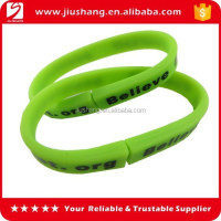 Silicone pen wrist band with custom logo