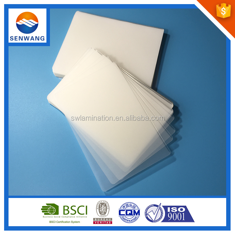 80mic Top Photo Laminator Pouch Type
