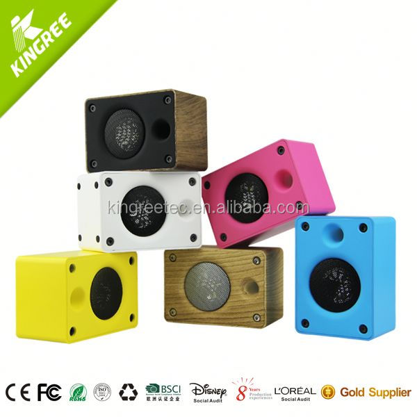 mini portable high quality mini sound box speaker for mobile phones